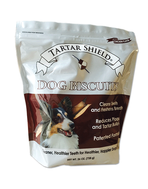 Tartar Shield Dog Biscuits