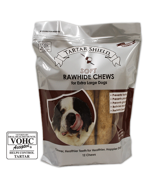 Extra Large Soft Rawhide Chews